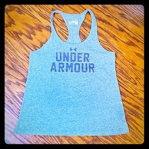 Under Armour Charged Semi Fitted Tank Sz S